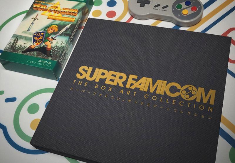 Take A Look At This Beautiful Super Nintendo Box ArtBook