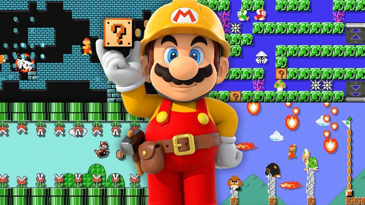 Check Out Some Christmas Themed Super Mario MakerCourses