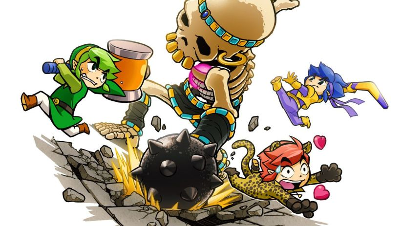 Here's The Launch Trailer For The Legend Of Zelda: Tri ForceHeroes