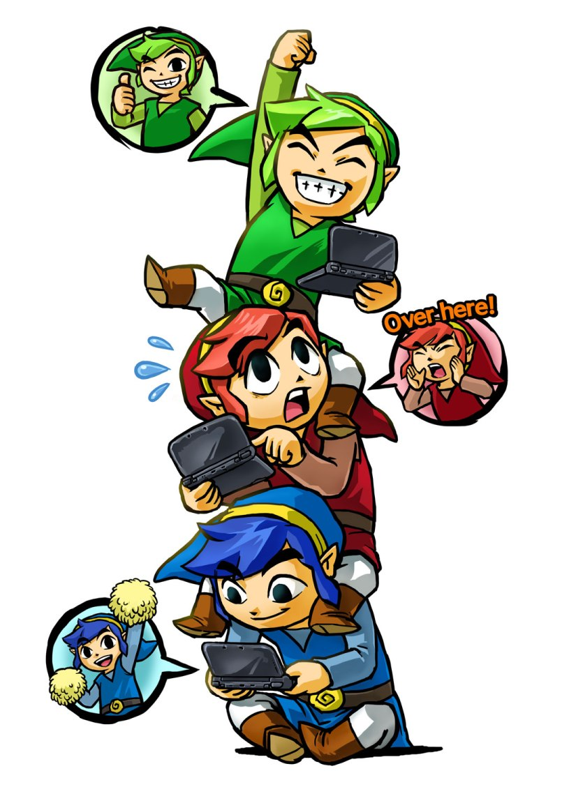 Here's The New TV Commercial For The Legend of Zelda: Tri ForceHeroes