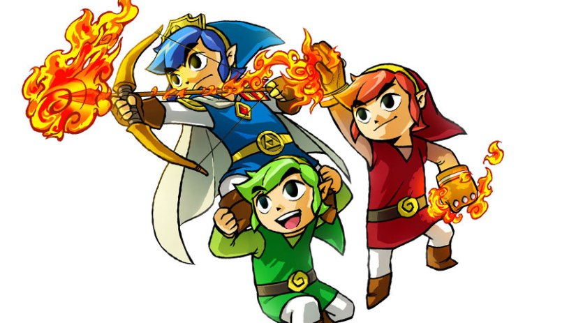 Video: The Legend of Zelda: Tri Force Heroes – Moldorm Boss Fight