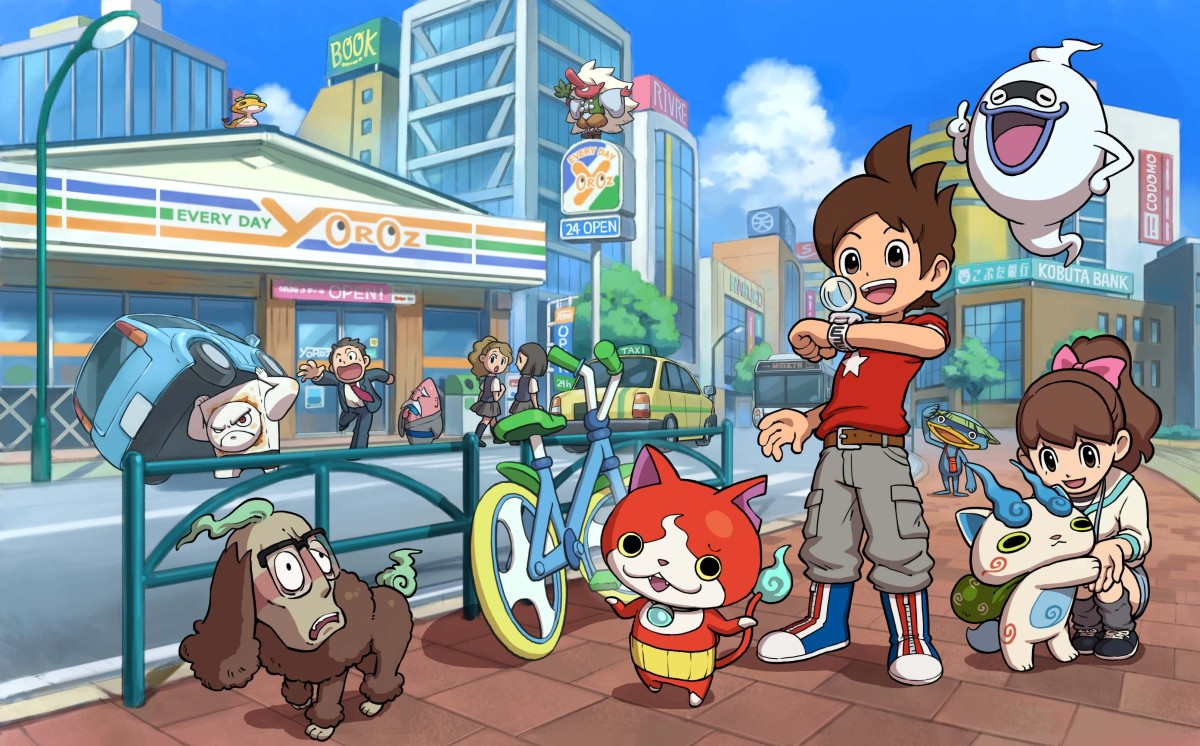 Here's The New Gameplay Trailer For Yo-Kai Watch