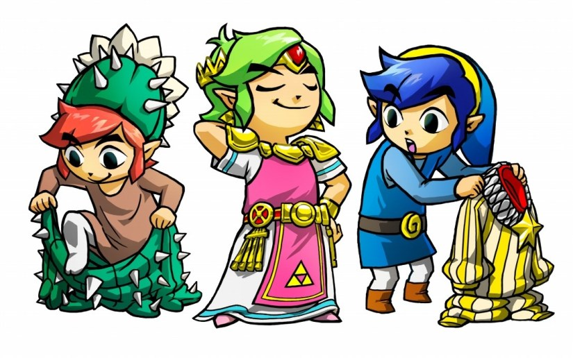 The Legend of Zelda: Tri Force Heroes Demo ComingTomorrow