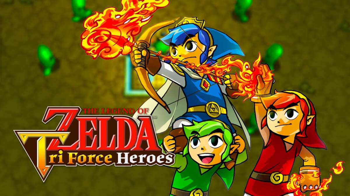Zelda Tri Force Heroes Included Online Play Based On Zelda Four SwordsFeedback