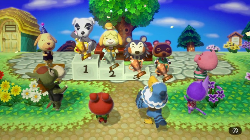 Here's The Latest Animal Crossing: Amiibo Festival Wii U Trailer