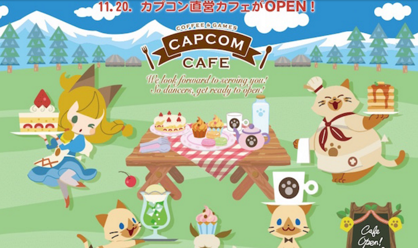 Capcom Will Be Opening A New Cafe Starting With Monster Hunter XTheme