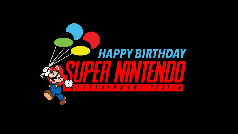 Happy 25th BirthdaySNES!