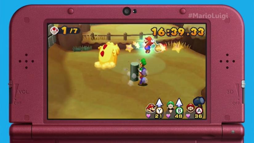 Here's 45 Minutes Of Mario & Luigi: Paper JamFootage