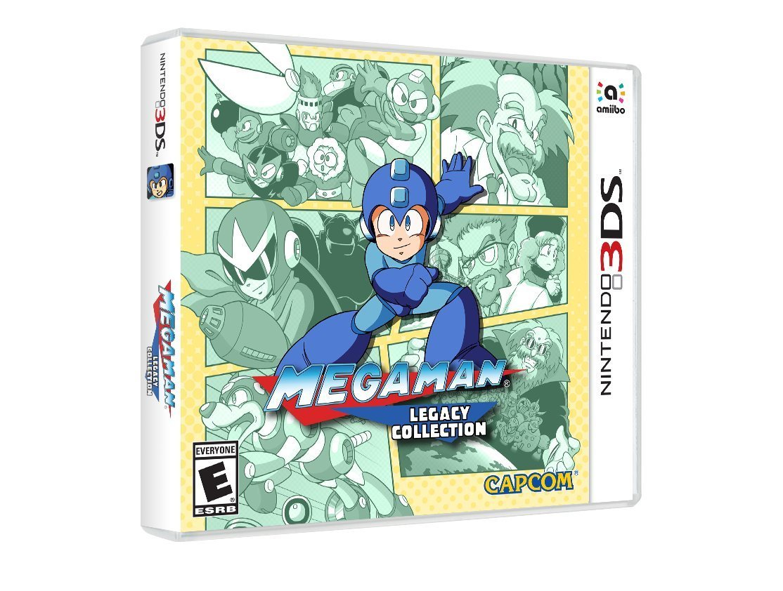 Mega Man Legacy Collection Is eShop-only In Europe And Pricing Confirmed