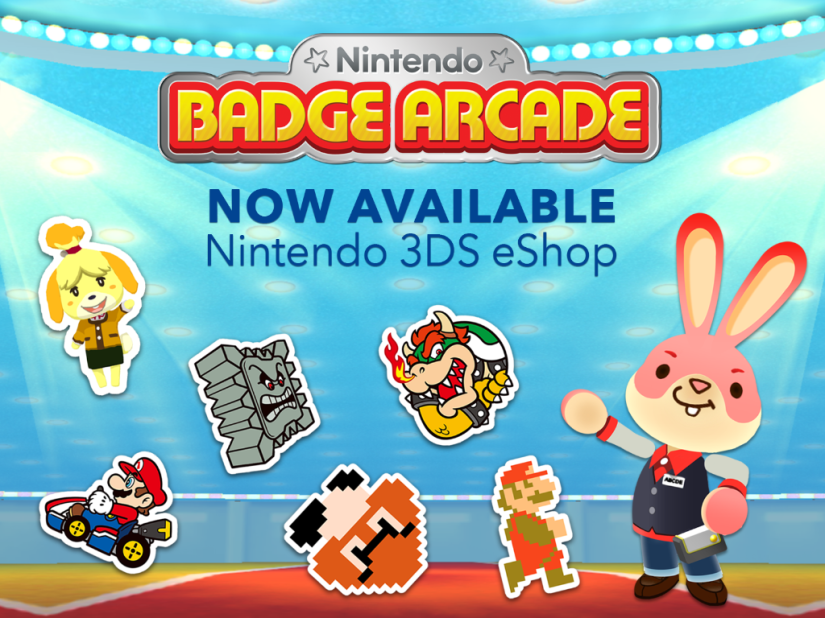 Nintendo Badge Arcade Is Now Available In North America