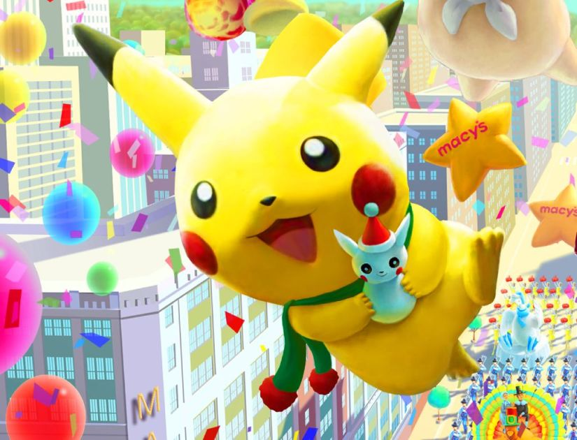 Pikachu Will Be At The 2015 Macy's Thanksgiving Day Parade