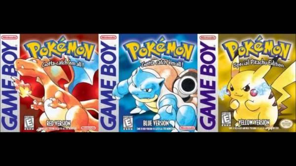 pokemon blue red yellow