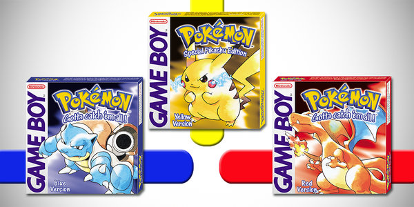 Pokemon Red, Blue And Yellow Coming To 3DS VirtualConsole