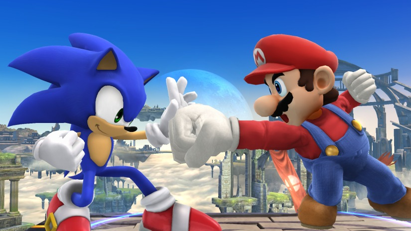 Oh, Snap! Sonic Just Took A Dig AtMario