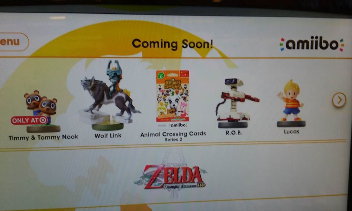 Brand New, Un-Announced Amiibo Outed Via In-StoreDisplays