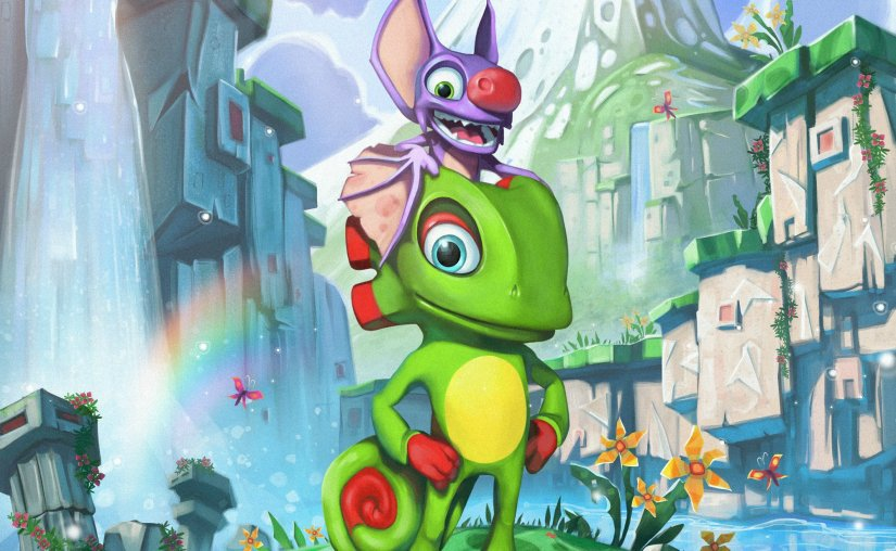 Playtonic Introduces New Yooka-Laylee Character RextroSixtyfourus