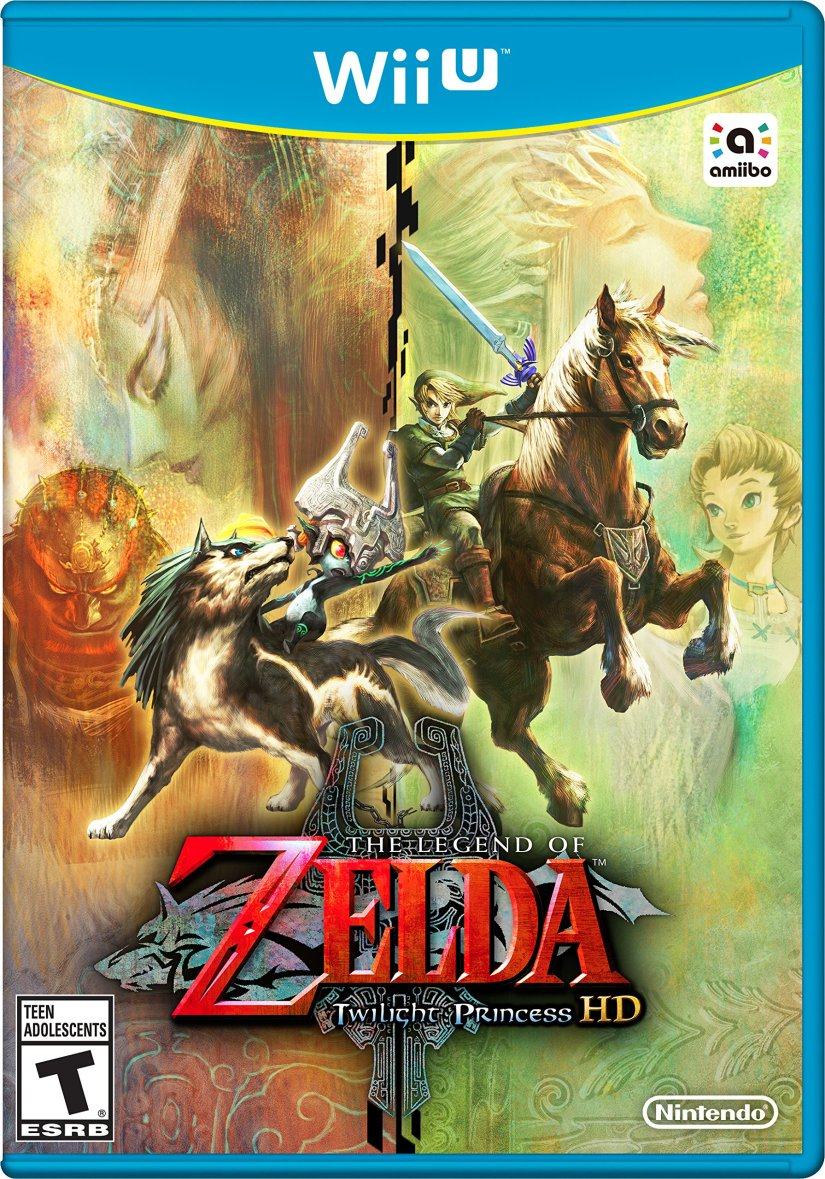Check Out The European Box Art For The Twilight Princess HD Bundle