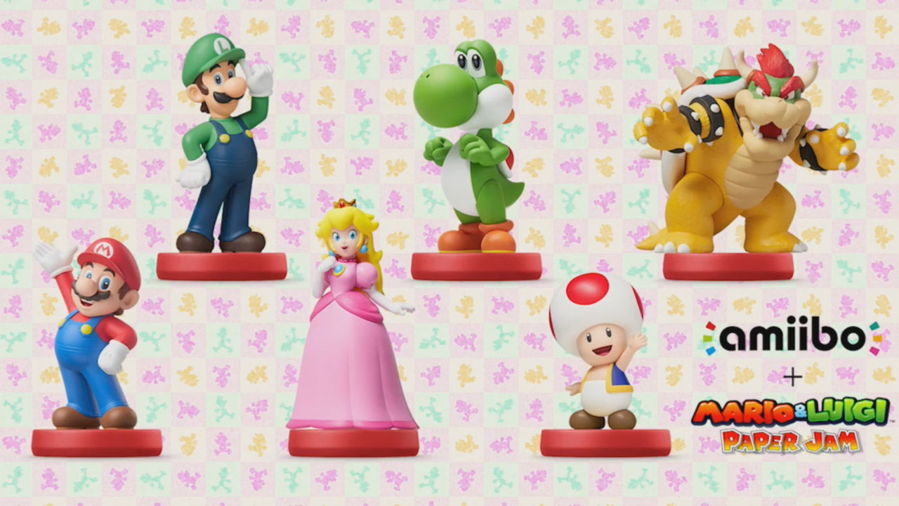 Get Sparkle Cards In Mario Luigi Paper Jam With Two Amiibo Of