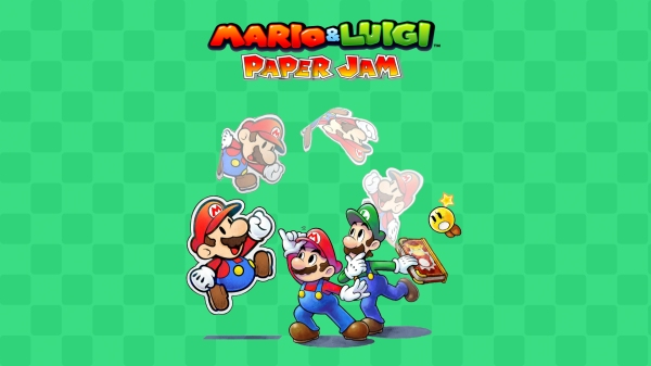 Mario_&_Luigi_Paper_Jam_green_background