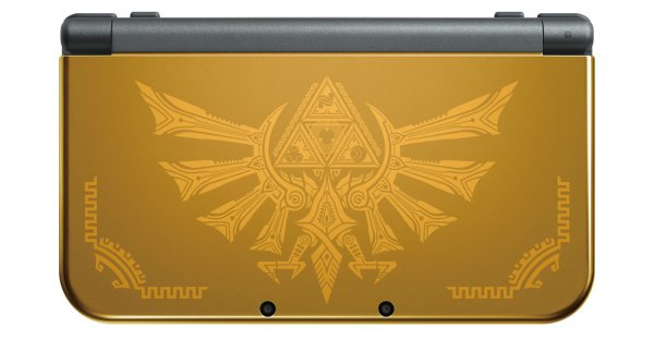 new nintendo 3ds Hyrule