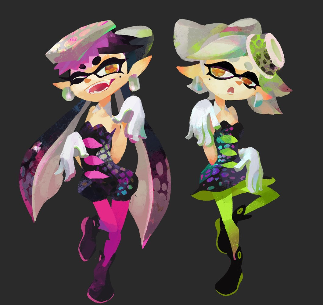 splatoon callie and marie amiibo coming my nintendo news