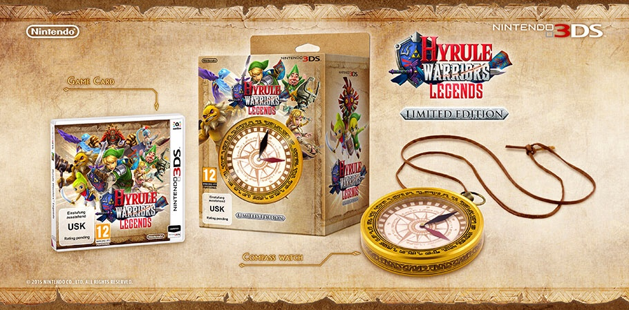Limited Edition Hyrule Warriors: Legends At GAME