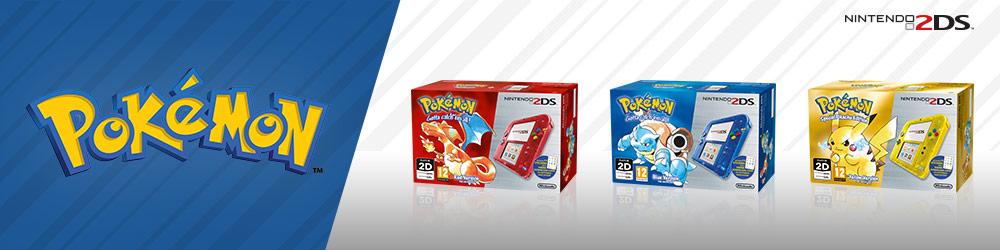 Nintendo UK Store: Pokémon Nintendo 2DS Special Editions, Pokkén Tournament & Limited Edition ControllerUp