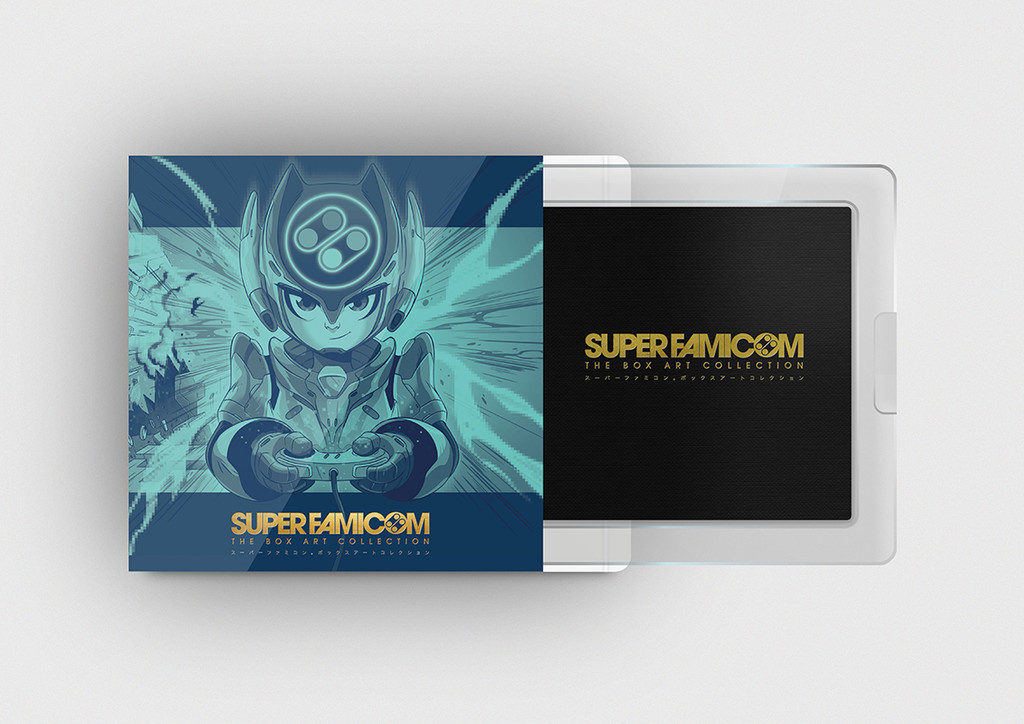 The Collector's Edition For Bitmap Books' Super Famicom: The Box Art Collection Features Art By WilOverton