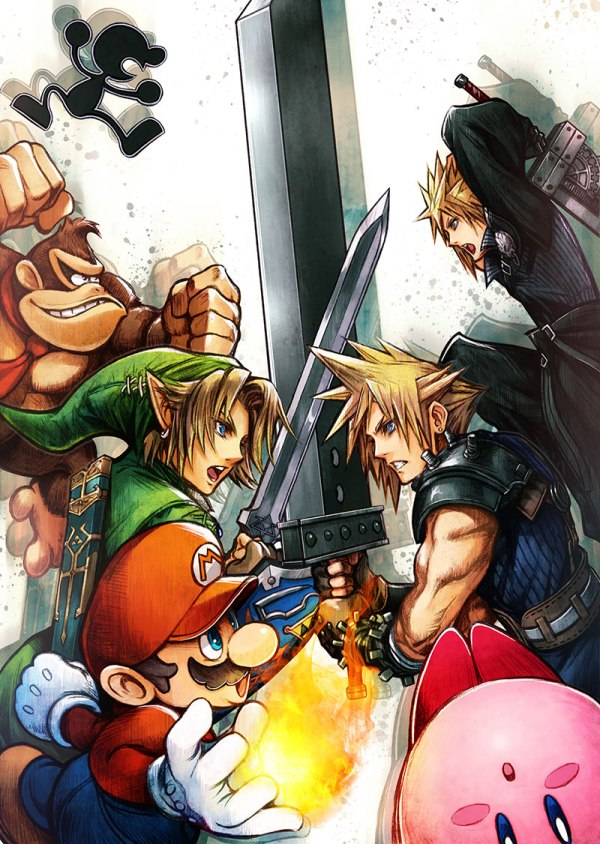 super_smash_bros_wii_nintendo_3ds_cloud_illustration