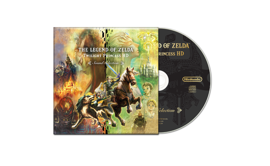 Pre-orders Of The Legend Of Zelda: Twilight Princess HD At GameStop Will Come With An ExclusiveCD