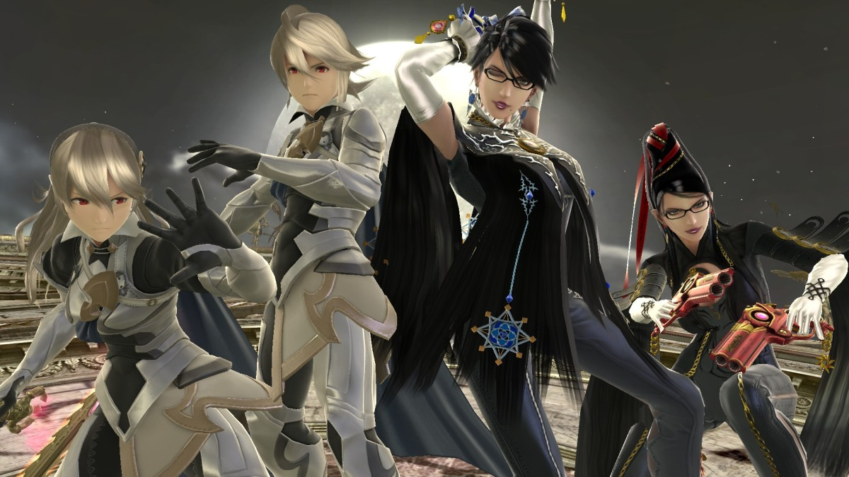 Bayonetta And Corrin Now Available In Super SmashBros