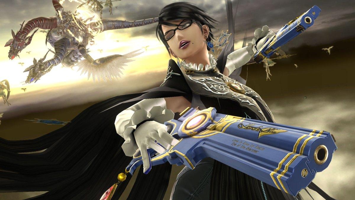 New Super Smash Bros Wii U Footage Showcases Bayonetta And CorrinGameplay