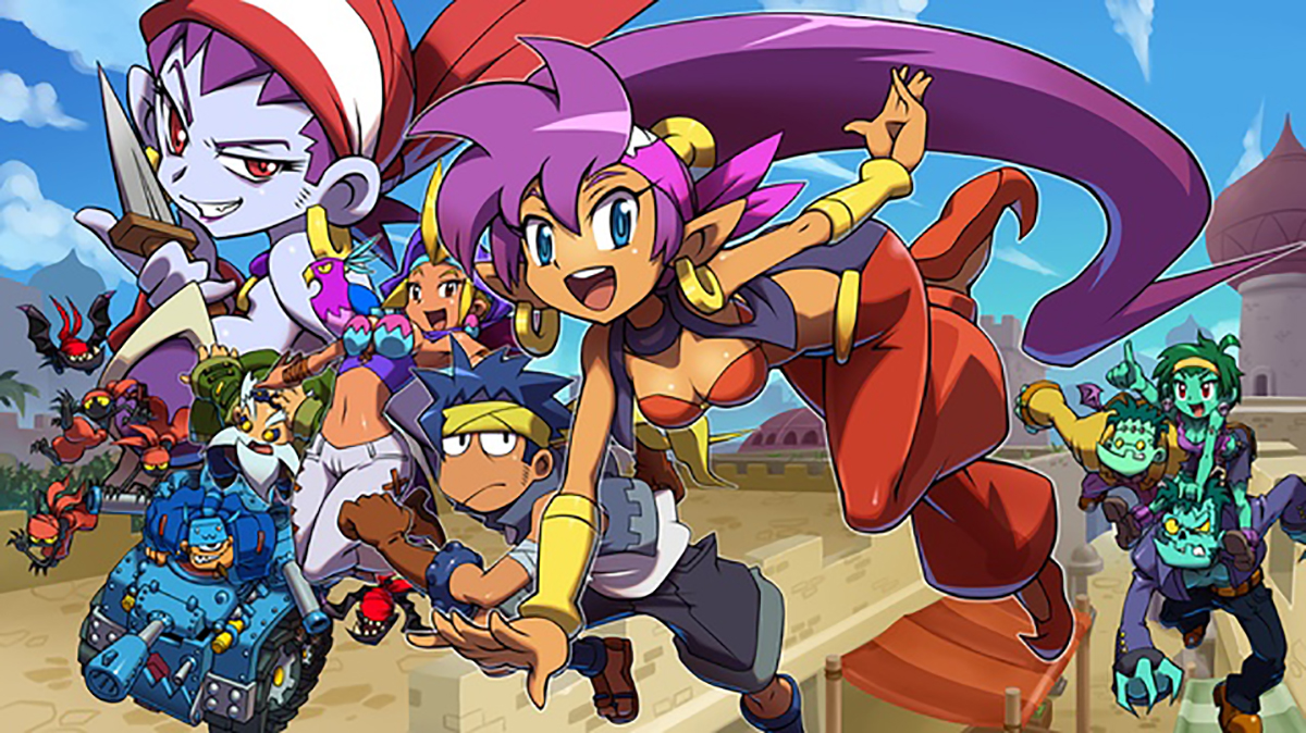 Check Out The New Shantae: Half-Genie Hero Kickstarter Update