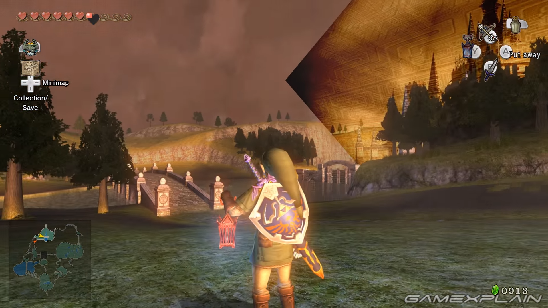 Video: How The Ghost Lantern Works In Twilight Princess HD