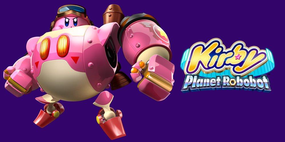 Kirby Planet Robobot Nintendo 3DS Standard