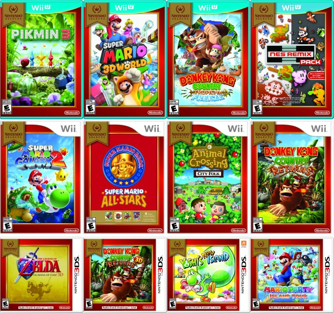 Amazon New Nintendo Selects Available For Pre Order My Nintendo