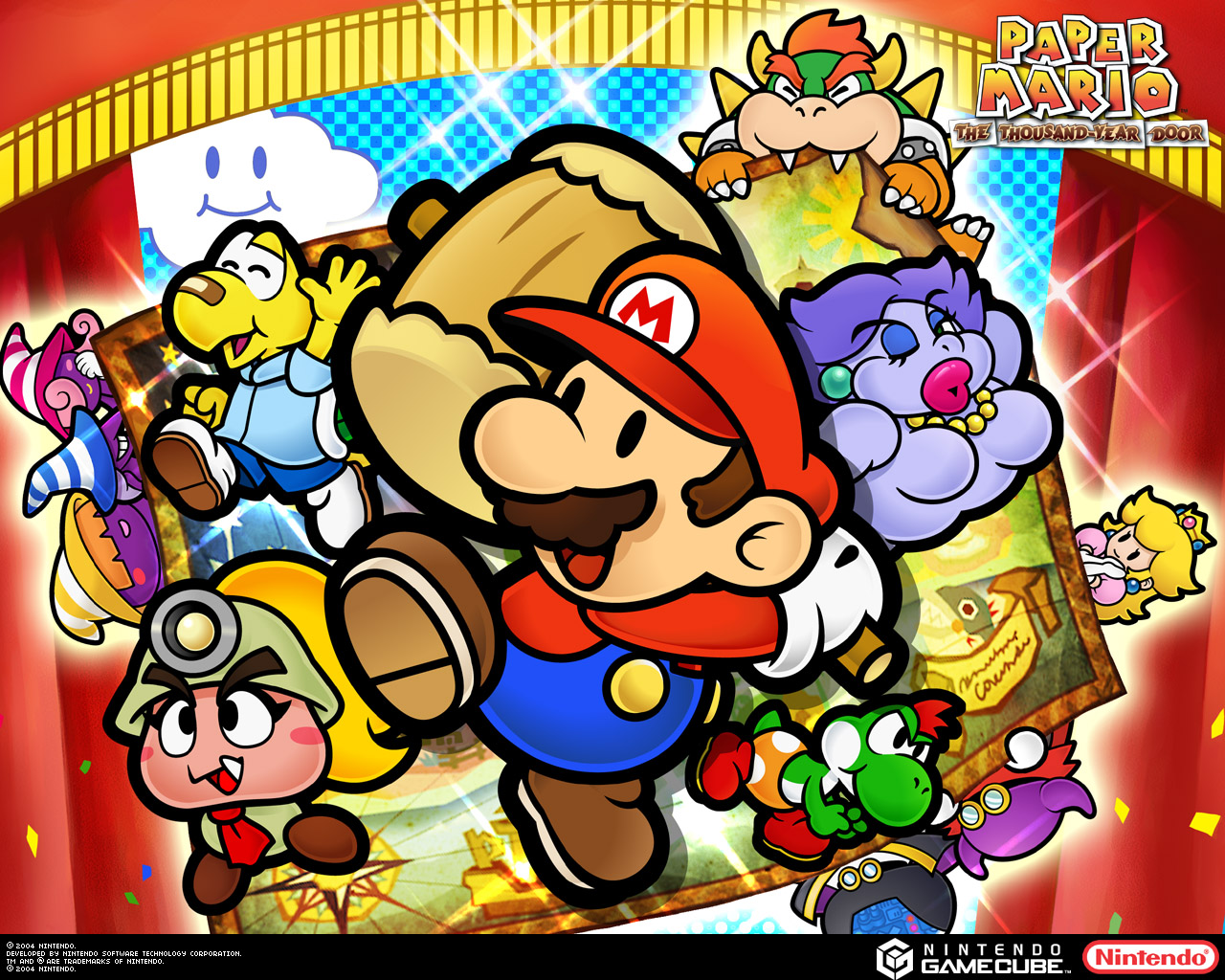 Modder Edits Paper Mario Thousand Year Door And Includes Earthbound