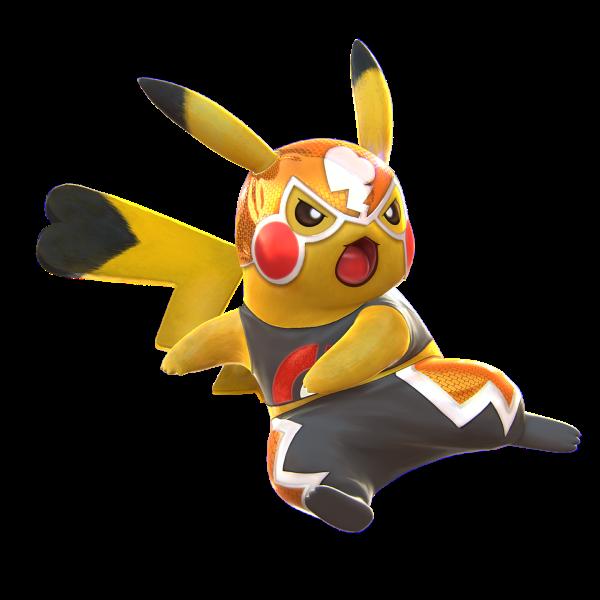 Pikachu Libre