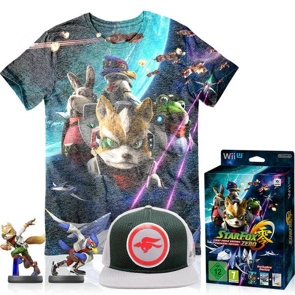 Nintendo Uk Store Star Fox Zero First Print Edition