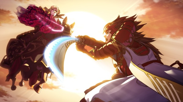 The battle of the kings: Xander and Ryoma.