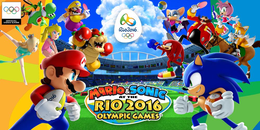 YouTube Playlist Mario Sonic Rio 2016 Wii U