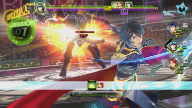 Characters will learn session skills allowing them to participate in battle.