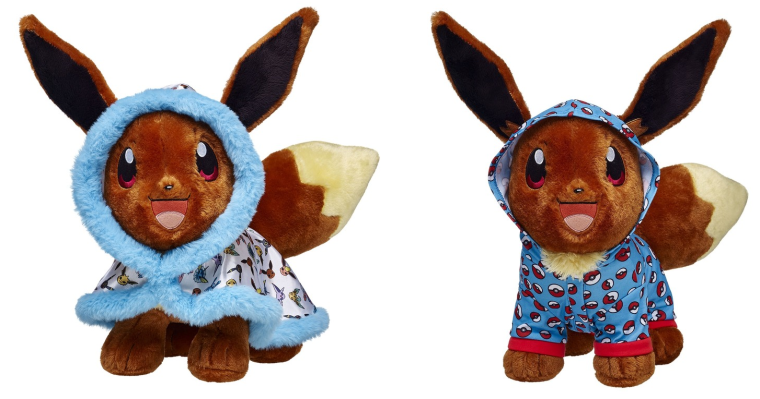 UK: Build-A-Bear Eevee Web Exclusive Back In Stock