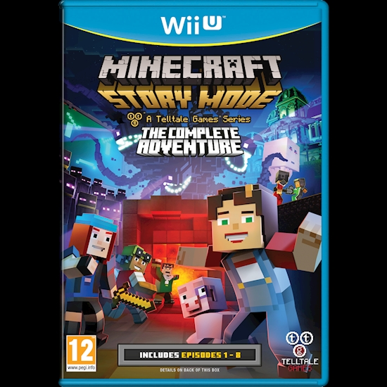 Minecraft: Story Mode The Complete Adventure Wii U Looks Set To Arrive December