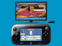 The GamePad is used intuitively during battle.
