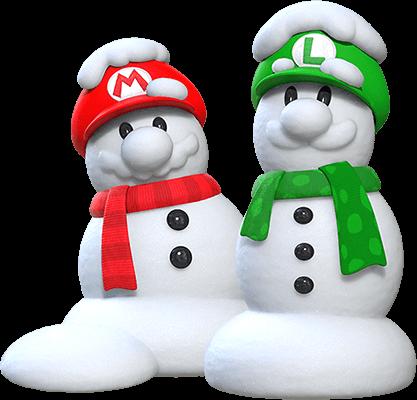 mario_snowman