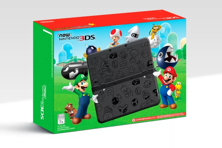Limited Edition New Nintendo 3DS Only $99 On Black Friday