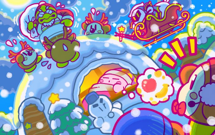 kirby_christmas_artwork