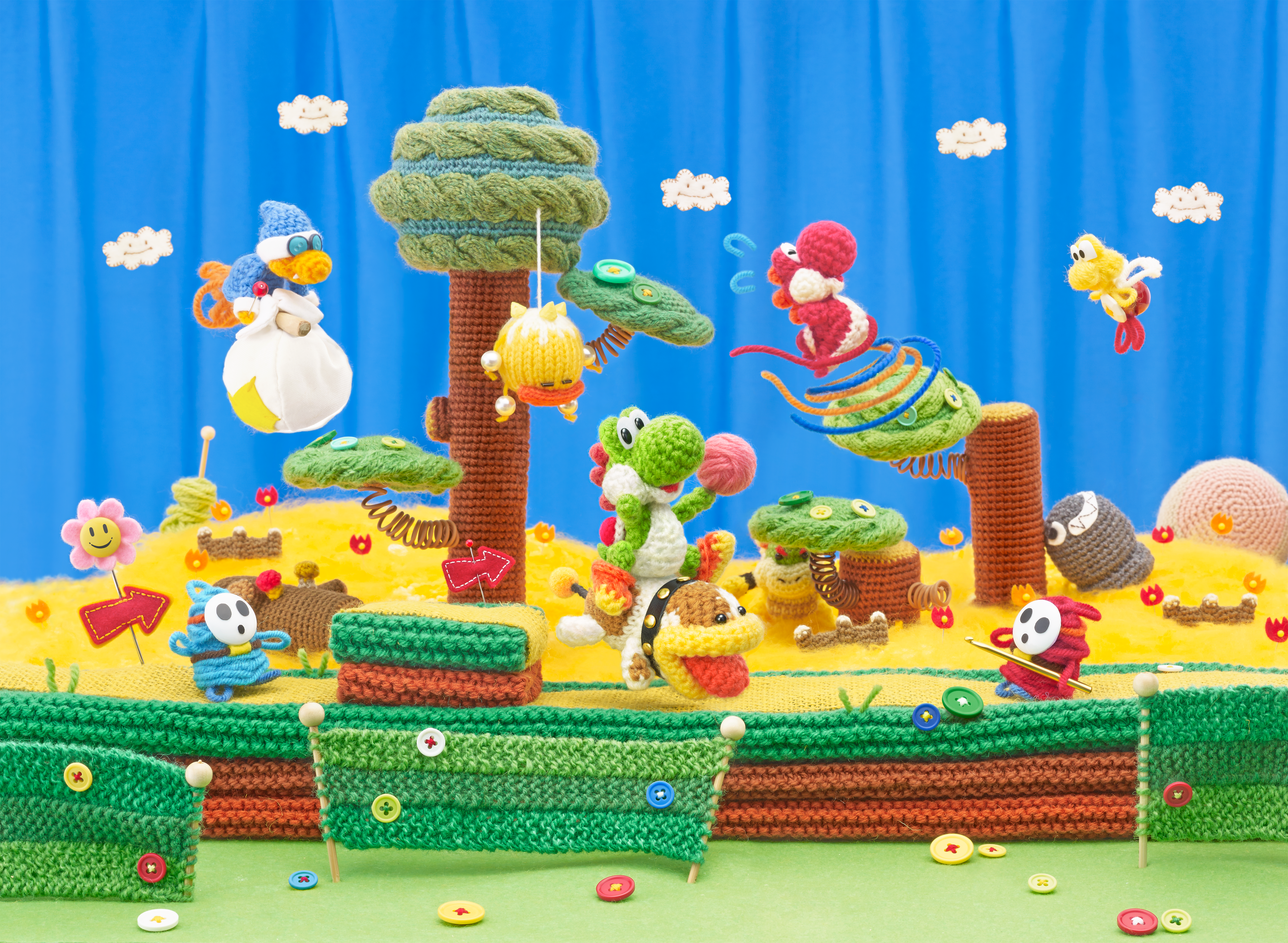 Poochy & Yoshi's Woolly World Runs At 30fps On Nintendo 3DS