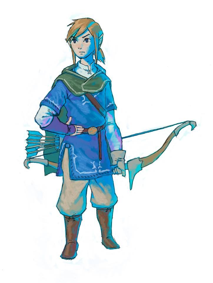 Nintendo Shares Two New Pieces Of Concept Art For Zelda